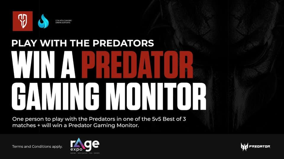 predator goliath gaming