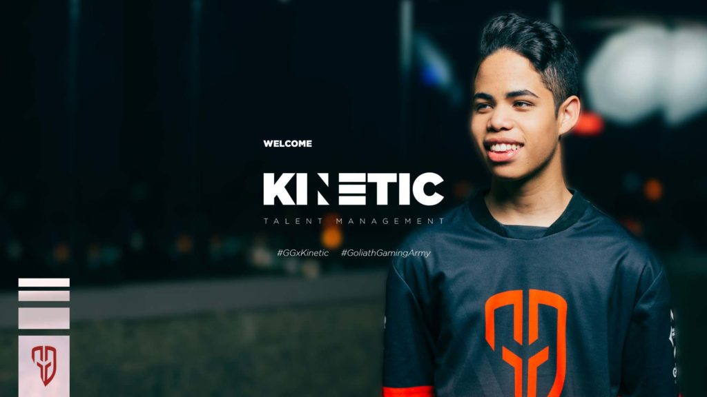 Goliath Gaming x Kinetic Talent Agency 2020